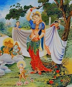 The Birth of Buddha