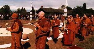 The Theravada Bhikkhu Sangha in United Kingdom